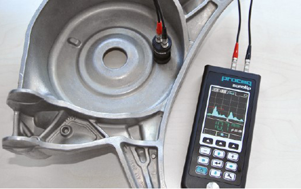 Abbey Spares Ltd Proceq Zonotip Ultrasonic Thickness Instrument