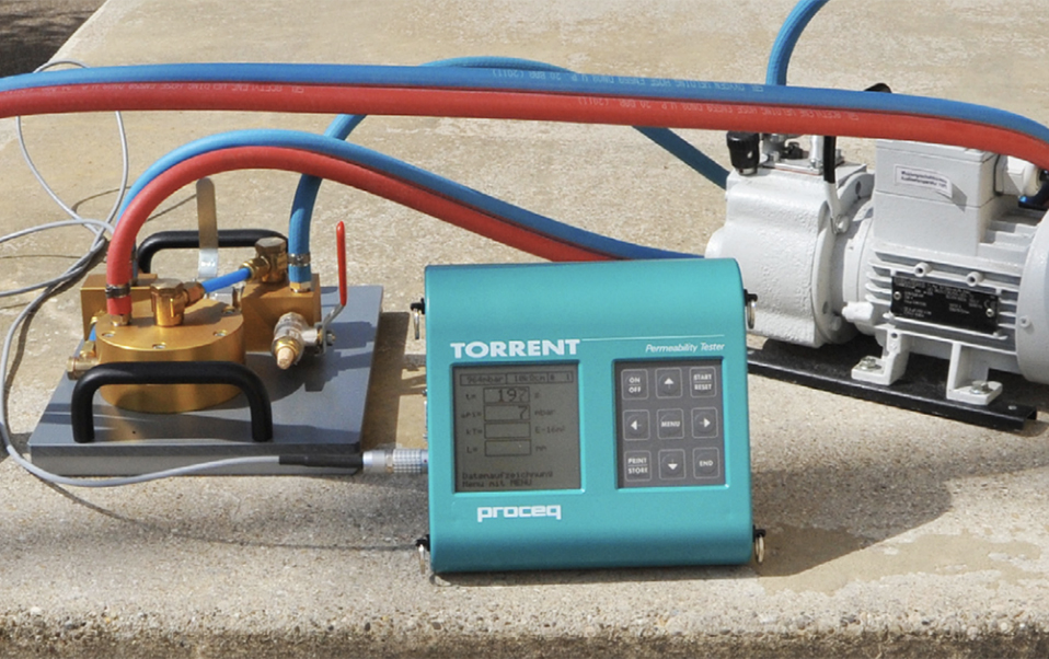 Abbey Spares Ltd Proceq Torrent Permeability Tester